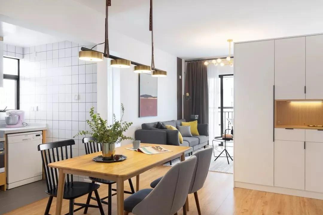 房改造 | 77㎡破旧老房改造,原木+白色调,简单而温馨